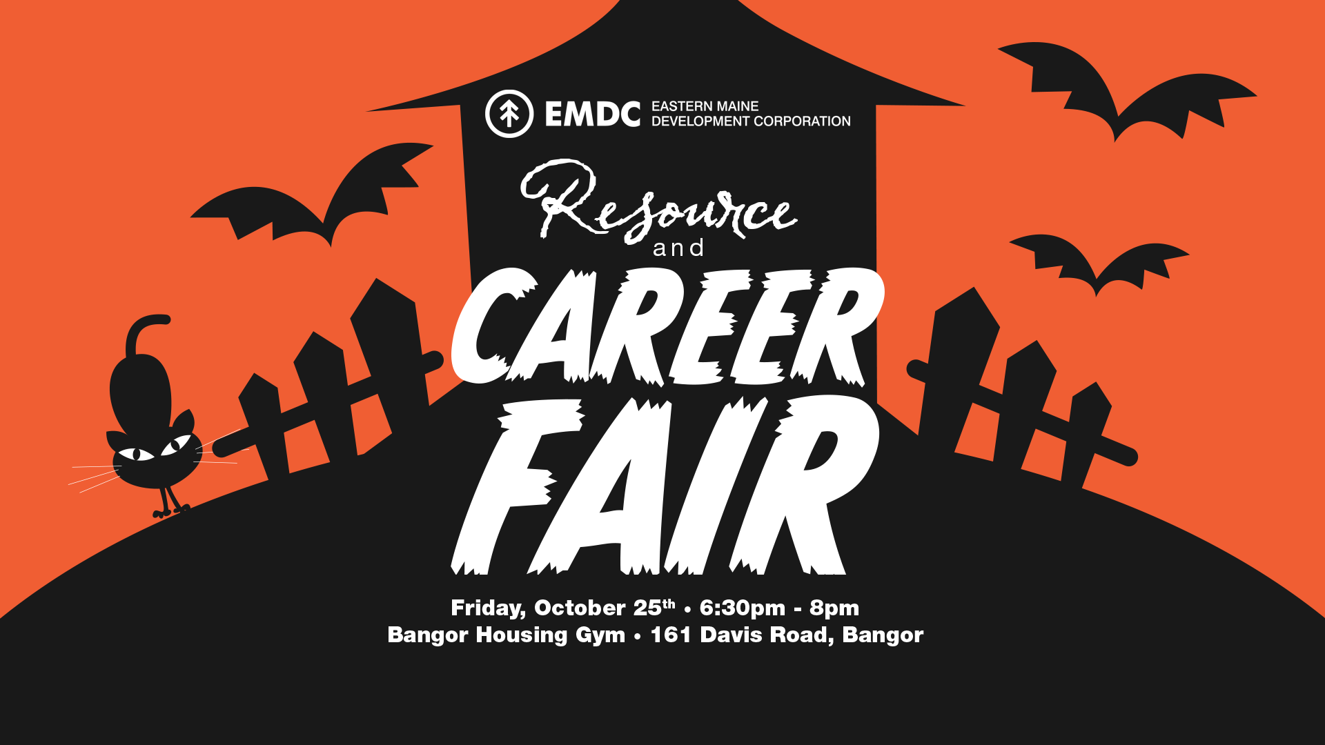 Resource and Career Fair at Bangor Housing Helps People Find Meaningful Employment, Welcomes Families for Trick-or-Treating