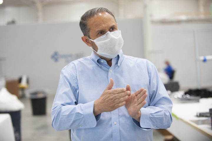 This Hermon company's work dried up when coronavirus hit. Now it's making masks for the long run.